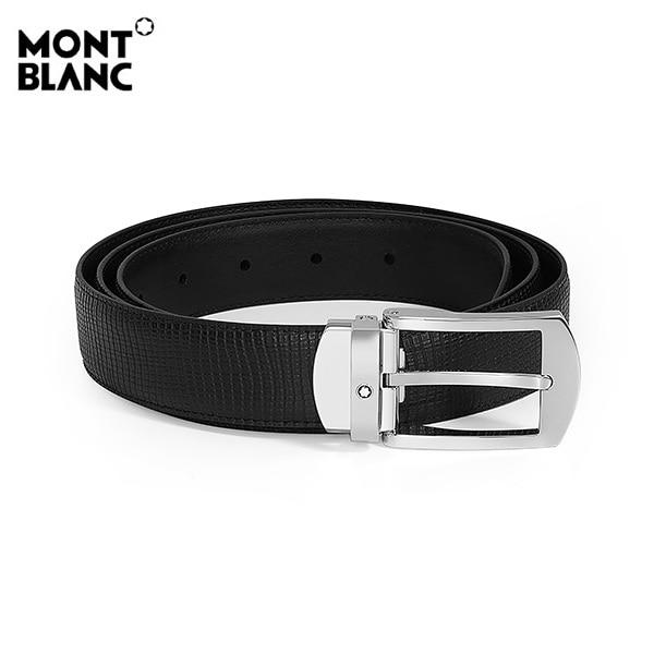 [몽블랑 MONTBLANC] 118440 / 컨템포러리 블랙 컬러 벨트 타임메카