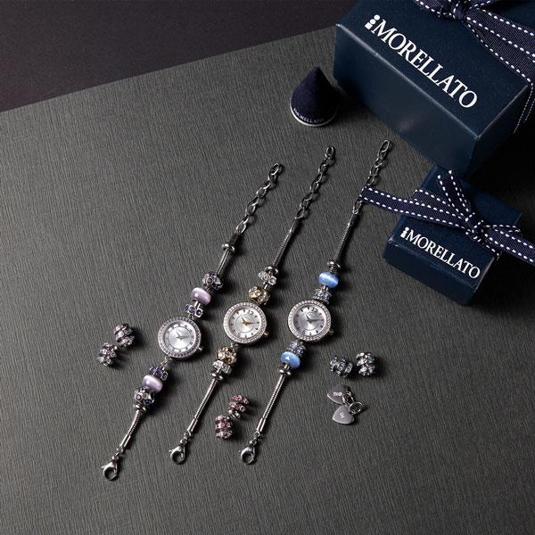 [모렐라또 MORELLATO] 손목시계+참(Charm) 컬렉션 / + 추가 참(Charm) 특별구성 세트 타임메카