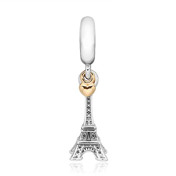 5월-) [판도라 PANDORA] 여성 판도라 댕글 참 791302 투톤 에펠탑 댕글참