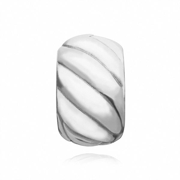 [판도라 PANDORA] 여성 판도라 클립 참 791752 Abstract silver clip
