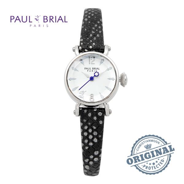 5월-) [폴브리알시계 PAULBRIAL] PB8003WT_WBK 이유비 시계