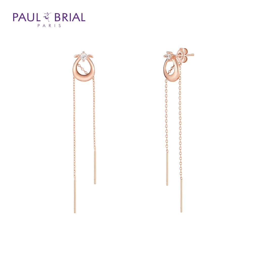 [폴브리알쥬얼리 PAULBRIAL] PYSE042S 하프 귀걸이 타임메카