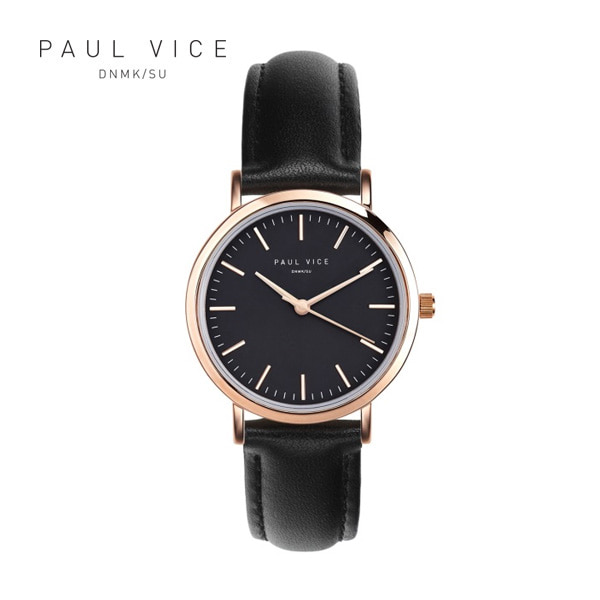 [폴바이스 PAULVICE] PV302BK Emma Collection Black - Black 엠마 컬렉션 32mm 여성시계