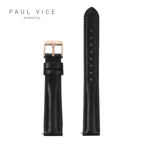 [폴바이스 PAULVICE] PV401BK Emma Collection Strap - Black 엠마 컬렉션 스트랩