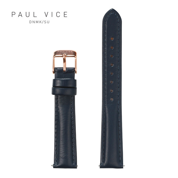 [폴바이스 PAULVICE] PV401NV Emma Collection Strap - Navy 엠마 컬렉션 스트랩