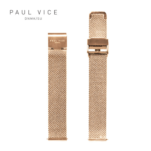 [폴바이스 PAULVICE] PV401RG Emma Collection Strap - Rosegold 엠마 컬렉션 스트랩