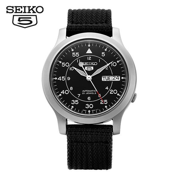[세이코5시계 SEIKO5] SNK809K2 / 오토매틱 나토밴드 38mm