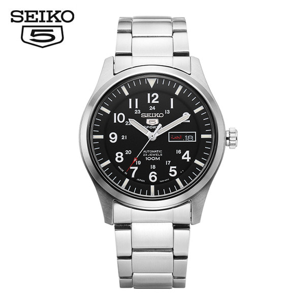 [세이코5 SEIKO5] SNZG13J1 Sprts Military Automatic 41mm