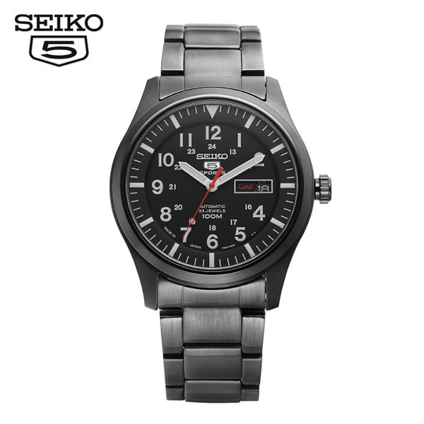 [세이코5 SEIKO5] SNZG17J1 Sprts Military Automatic 41mm