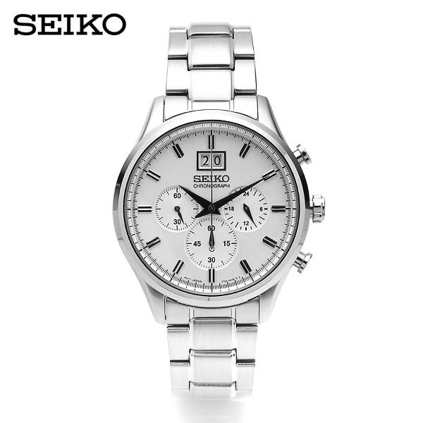 [세이코 SEIKO] SPC079P1 / 크로노그래프 남성 메탈시계 41mm