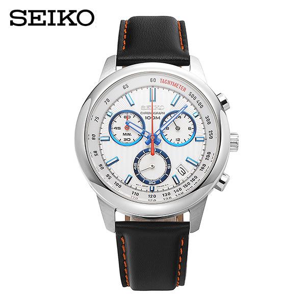 [세이코 SEIKO] SSB209P1 / 크로노 쿼츠 Chronograph Mens 42mm