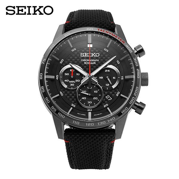 [세이코 SEIKO] SSB359P1 / 네오 스포츠 Neo Sports 크로노그래프 남성용 나토밴드시계 43mm 타임메카