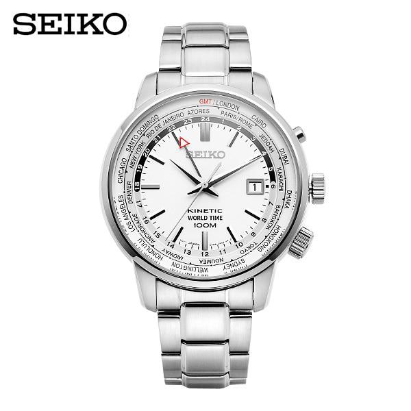 6월-) [세이코 SEIKO] SUN067P1 / 키네틱 Kinetic World Time GMT 43mm
