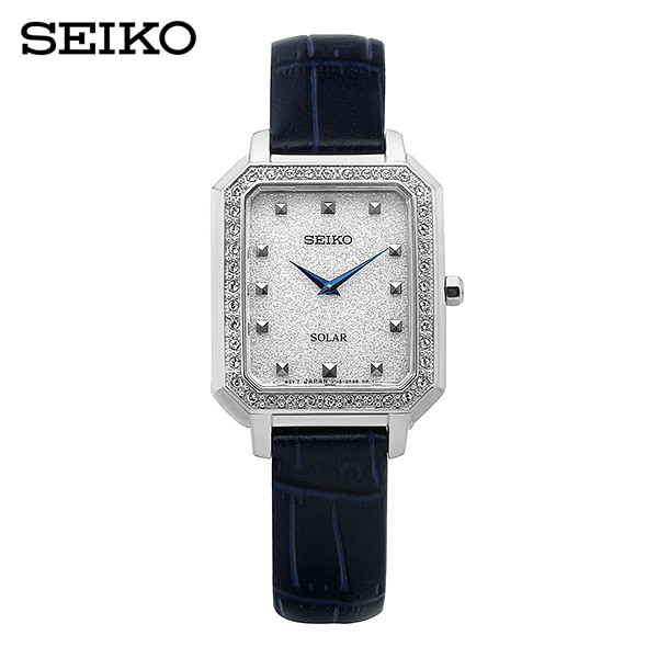 [세이코 SEIKO] SUP429P1 / 컨셉츄얼 Conceptual 솔라 여성용 가죽시계 24mm 타임메카