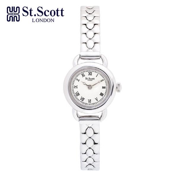 [세인트스코트 ST.SCOTT] ST1001WT 여성용 메탈시계 20.5mm