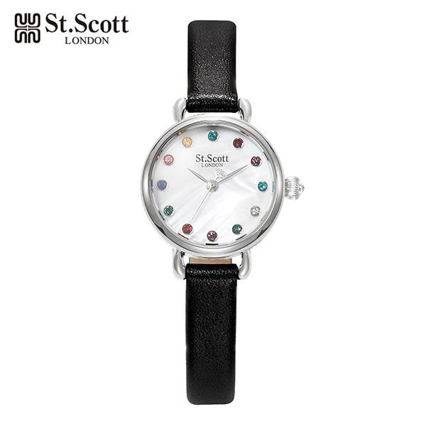 [세인트스코트 ST.SCOTT] ST3002SMB 여성용 가죽밴드 23mm