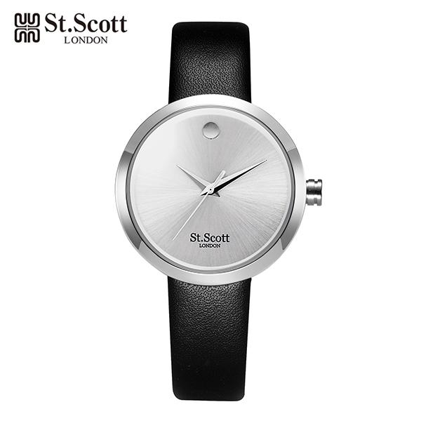 [세인트스코트 ST.SCOTT] ST5001LWT 여성용 가죽밴드 32mm
