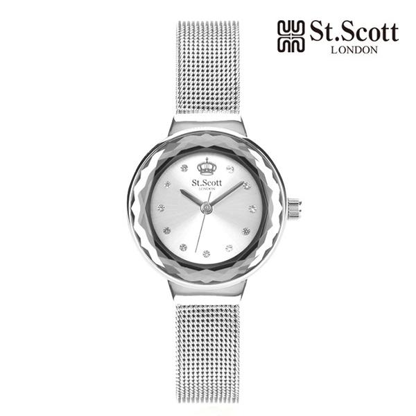 [세인트스코트 ST.SCOTT] ST5029SSS BRILLANT 여성용 메탈시계 24mm 타임메카
