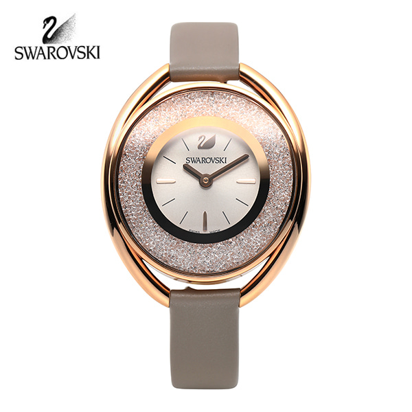 [스와로브스키 SWAROVSKI] 5158544 Crystalline Oval Rose Gold Tone 시계
