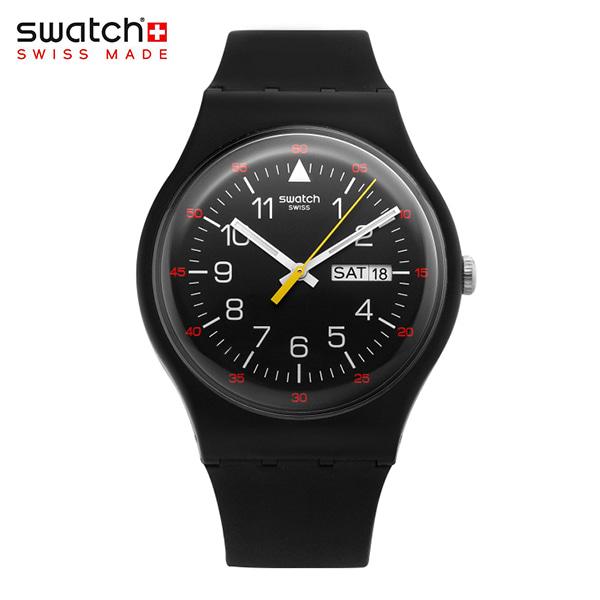 [스와치시계 SWATCH] SUOB724 / Yokorace Black Dial 남성 젤리시계