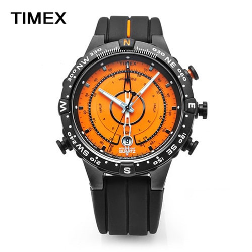 [타이맥스시계 TIMEX] T49706 해운대시계 조수계 온도계 나침반