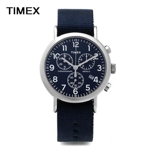 [타이맥스시계 TIMEX] TW2P71300 / 40mm 인디글로라이트 크로노그래프 / 응팔 류준열 착용모델
