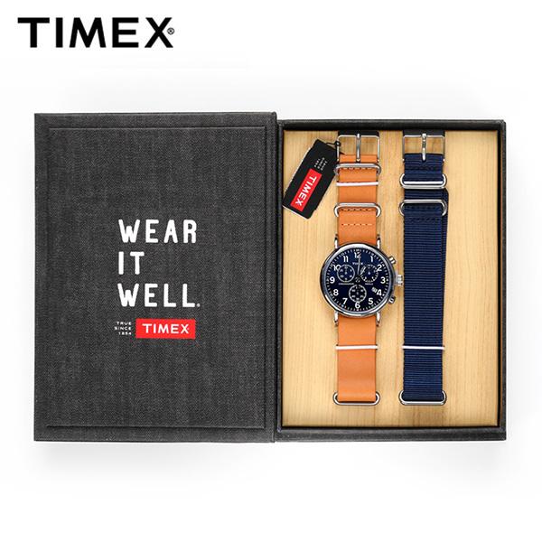 [타이맥스시계 TIMEX] TWG012800 / 40mm 인디글로라이트 크로노그래프