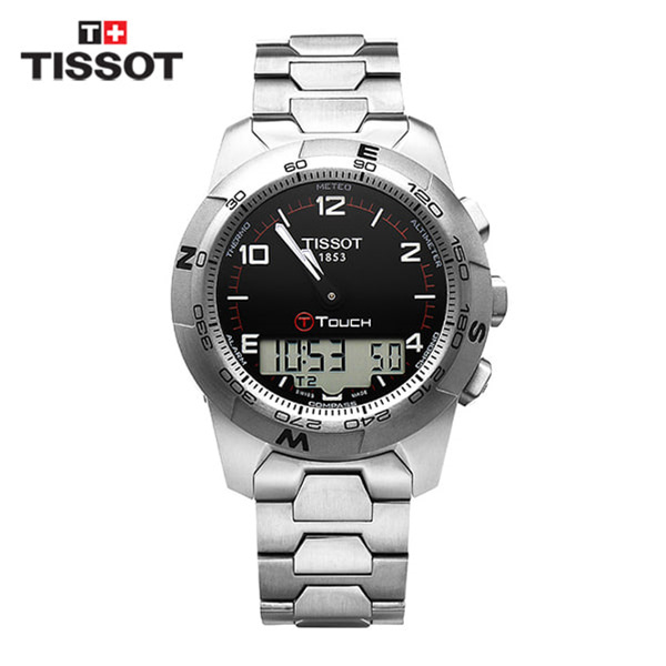 [티쏘 TISSOT] T047.420.44.057.00(T0474204405700) / 티터치 T-Touch II Altimeter 43mm