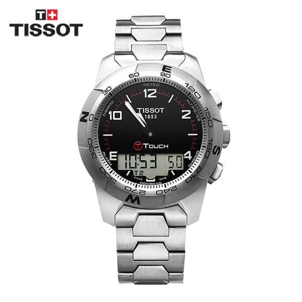 [티쏘 TISSOT] T047.420.44.057.00(T0474204405700) / 티터치 T-Touch II Altimeter 43mm