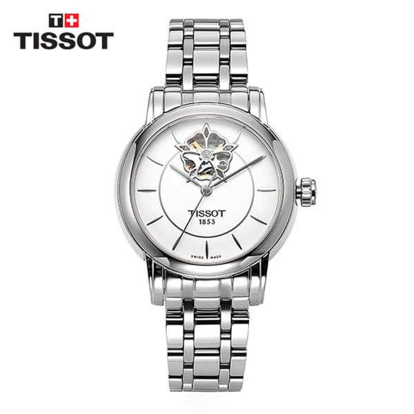 [티쏘 TISSOT] T050.207.11.011.04 (T0502071101104) Heart Automatic Womens 35mm