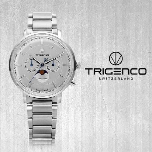 [트리젠코시계 TRIGENCO] TG-1000-WH Zivil(지빌) SWITZERLAND 42mm