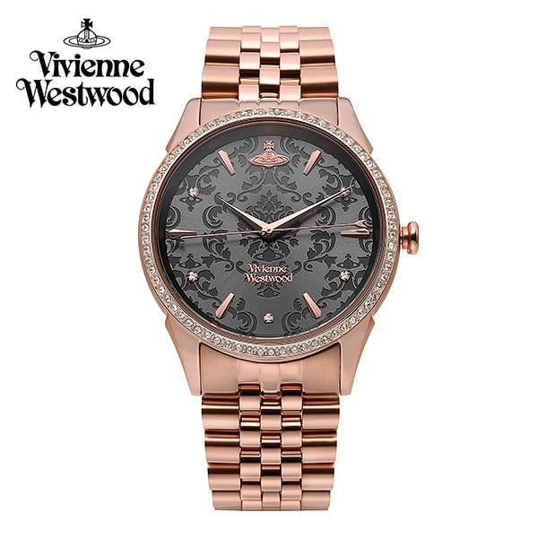 [비비안웨스트우드시계 VIVIENNEWESTWOOD] VV208RSRS 더 월러스 The Wallace 여성 메탈시계 42mm 타임메카