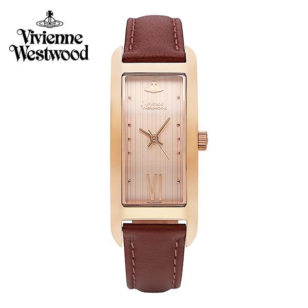 [비비안웨스트우드시계 VIVIENNEWESTWOOD] VV224RSDPK 웨스트엔드 West End 여성용 가죽시계 40 x 15mm 타임메카