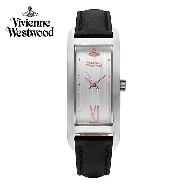 [비비안웨스트우드시계 VIVIENNEWESTWOOD] VV224SLBK 웨스트엔드 West End 여성용 가죽시계 40 x 15mm 타임메카
