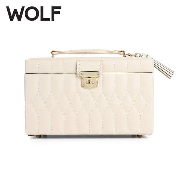 [울프 WOLF] 329753 (Caroline Medium Box Ivory)