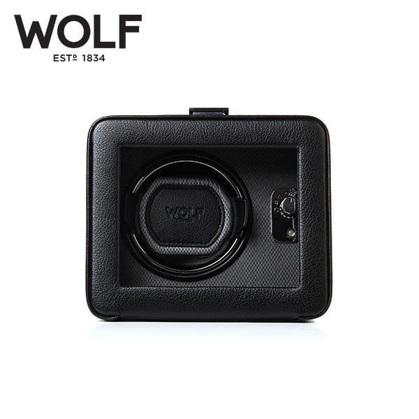 [울프 WOLF] 4525029 (Windsor Single Winder w/ Cover) / 워치와인더 Watch Winder