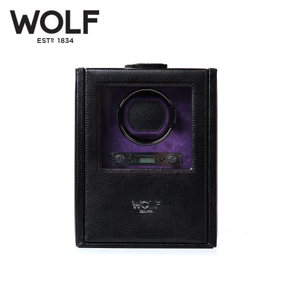 [울프 WOLF] 460628 (Blake Single Winder Black Peb) / 워치와인더 Watch Winder
