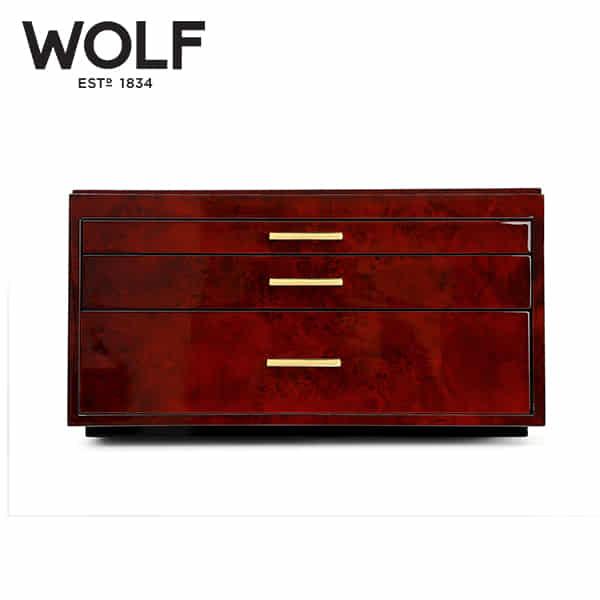 [울프 WOLF] 461010 (Meridian Watch Box Burl)