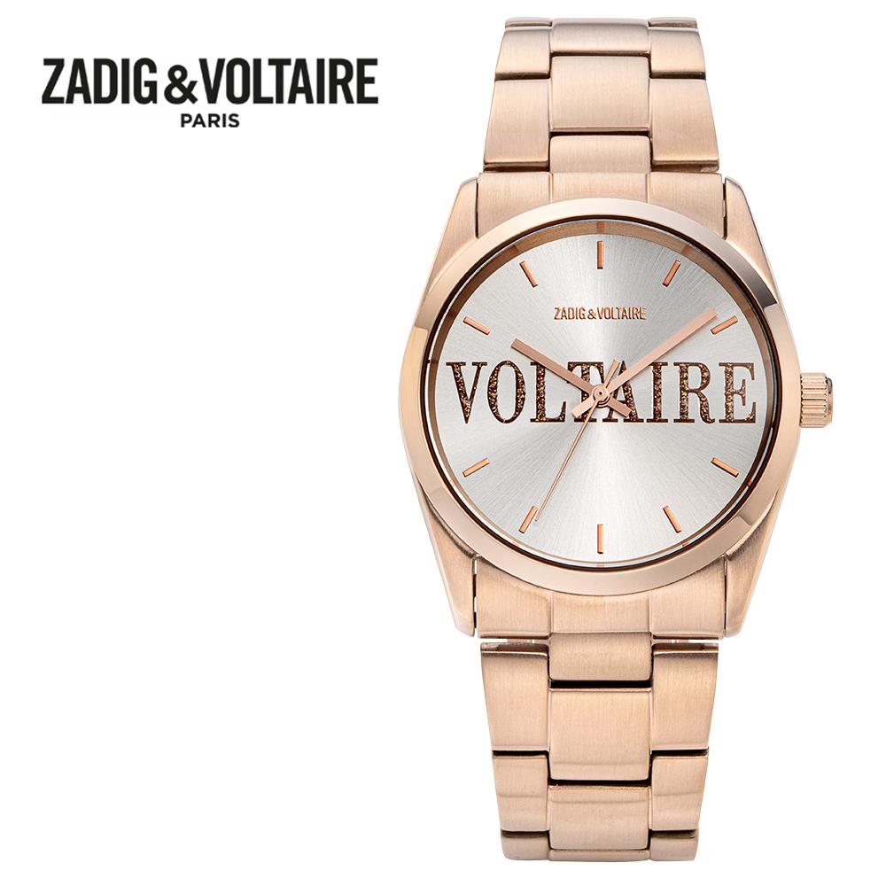 [쟈딕앤볼테르 ZADIG&VOLTAIRE] ZVT205 TIMELESS COLLECTION 타임리스 컬렉션 여성용 메탈시계 36mm 타임메카