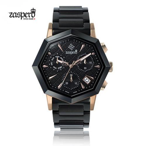 [자스페로 ZASPERO] SG501-01 옥타곤 45.5mm [자스페로코리아 정품] 정준하 착용시계