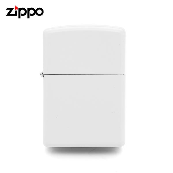 [지포 ZIPPO] ZP214 / 레귤러 화이트 매트 Regular White Matte