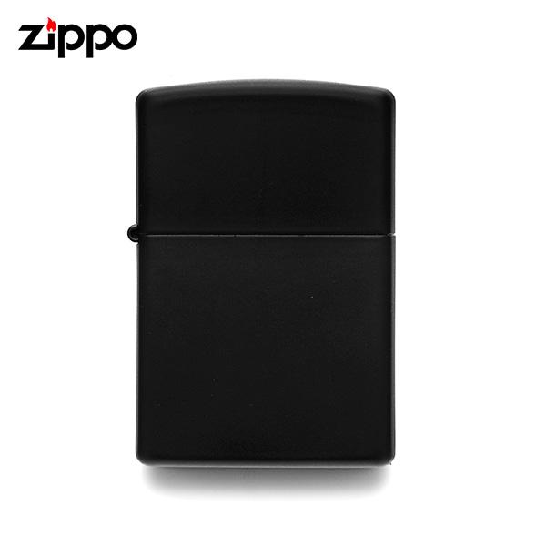 [지포 ZIPPO] ZP218 / 레귤러 블랙 매트 Regular Black Matte