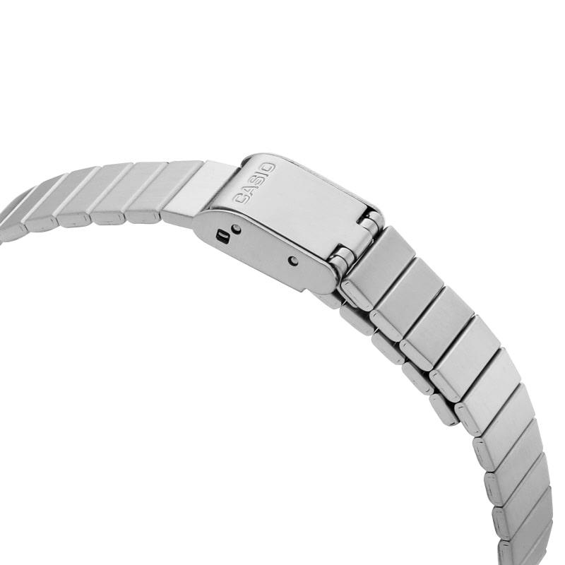 카시오(CASIO) 카시오 CASIO LA670WA-1SDF (LA670WA-1S) 금장 디지털 남성 메탈시계 30X24mm
