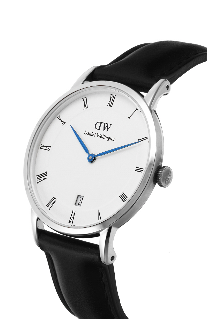 다니엘 웰링턴(DANIEL WELLINGTON) 1141DW Dapper Sheffield 실버 34mm