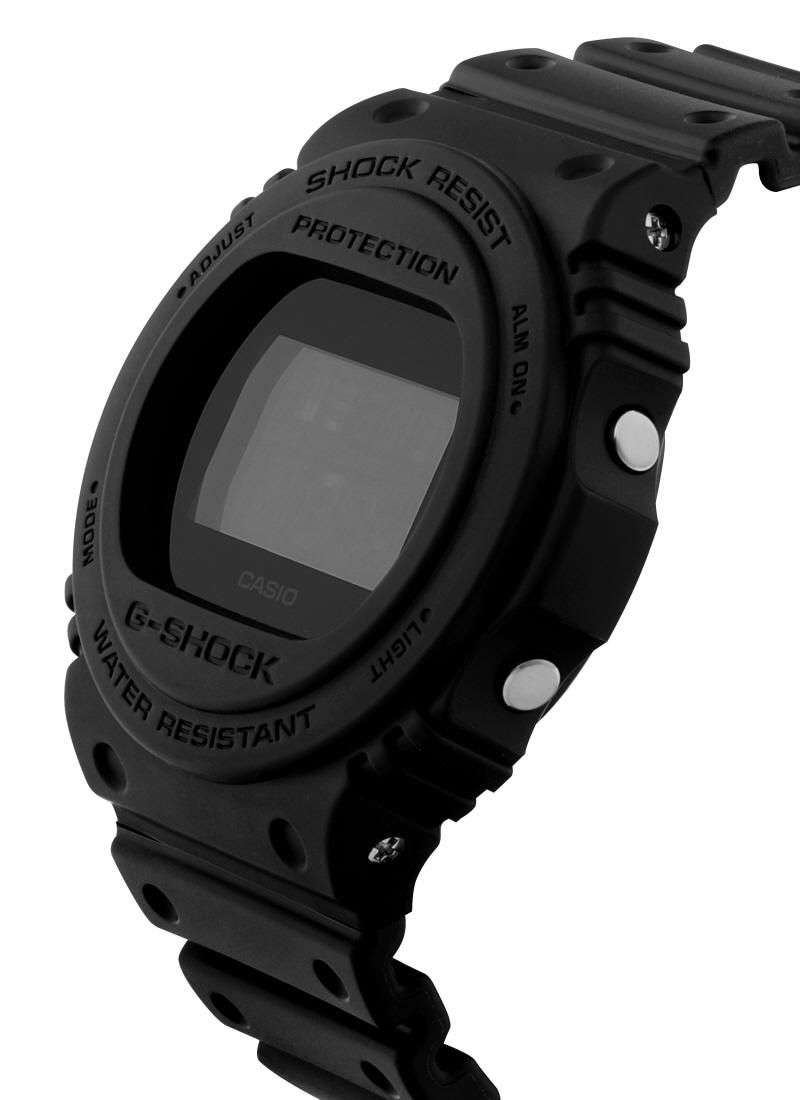 지샥(G-SHOCK) 지샥 G-SHOCK DW-5750E-1B REVIVAL 5700 리바이벌 5700 올블랙 남성 우레탄시계