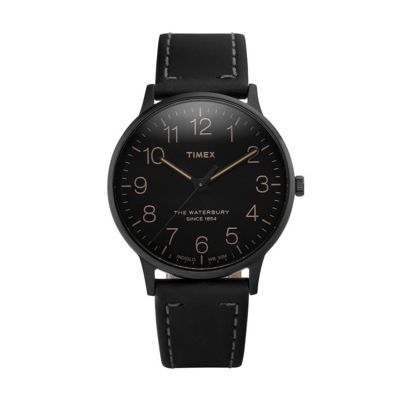 [타이맥스시계 TIMEX] TW2P95900 / 워터베리 Waterbury 남성용 가죽시계 40mm