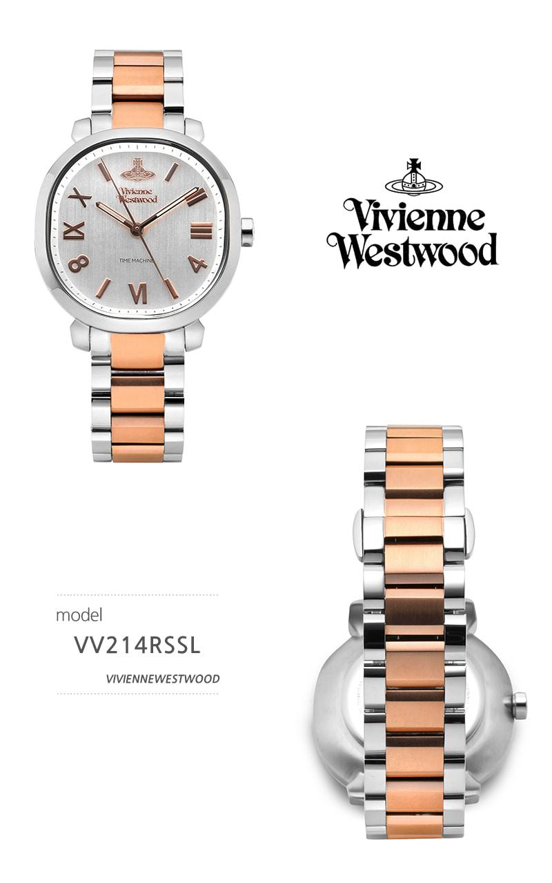비비안 웨스트우드(VIVIENNE WESTWOOD) VV214RSSL 메이페어 쿼츠 여성 메탈시계
